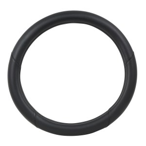 Heavy Duty 18″ Steering Wheel Cover in Deluxe Matte Carbon Fiber