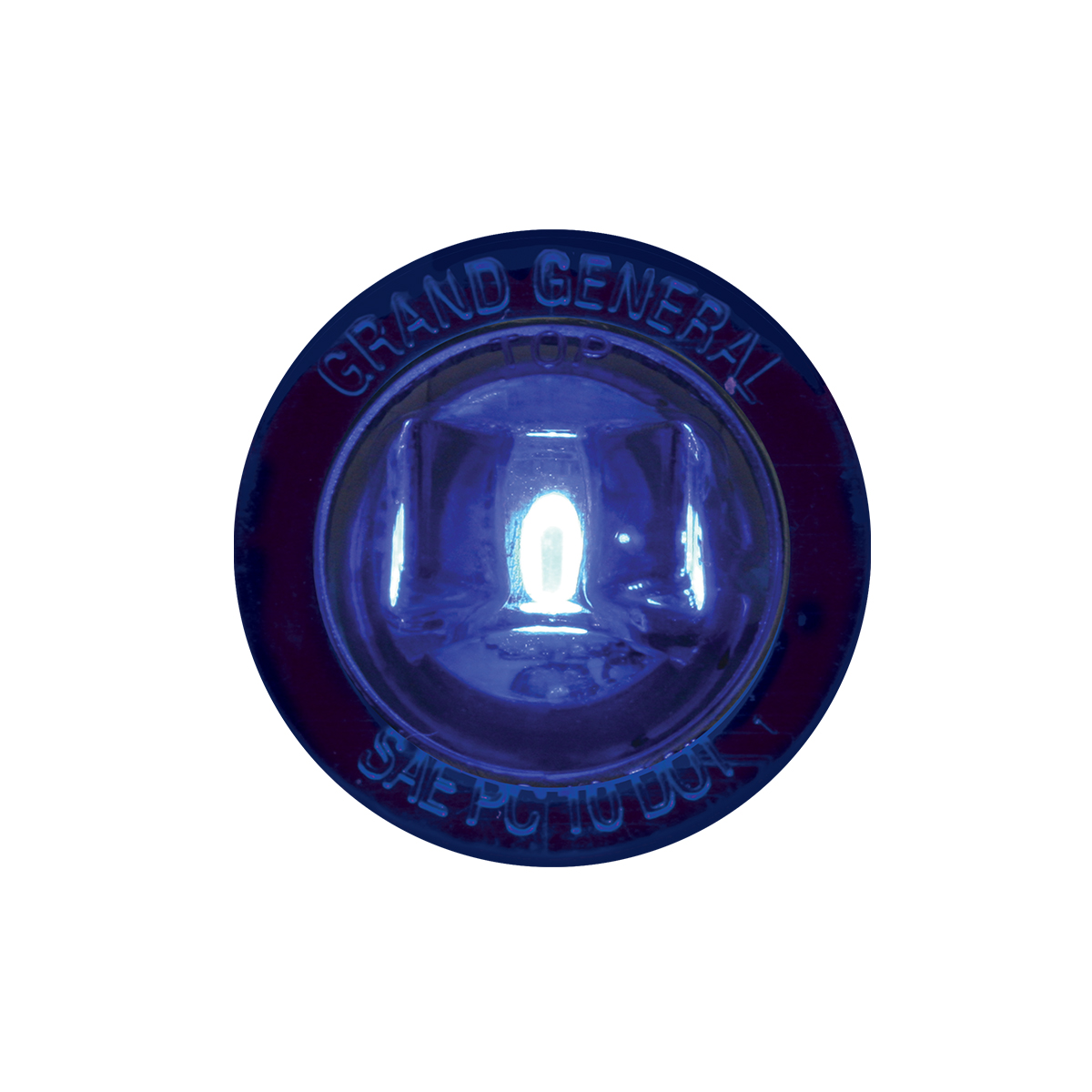 """75215 1-1/4"""" Dia. Dual Function LED Light with Nut"""