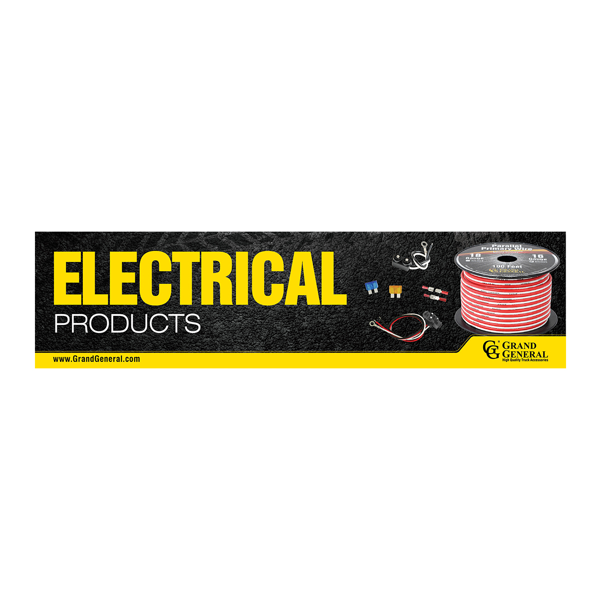 Electrical Products Display Sign