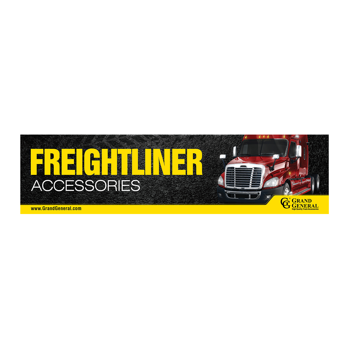 Freightliner Accessories Display Sign