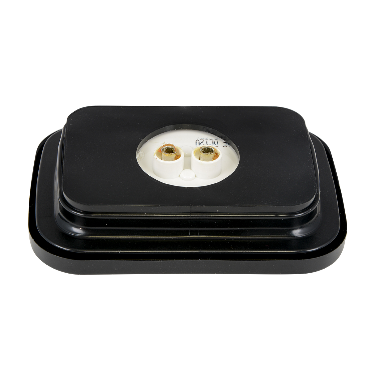 Rectangular Marker LED in Reflector Lens with Grommet and Pigtail