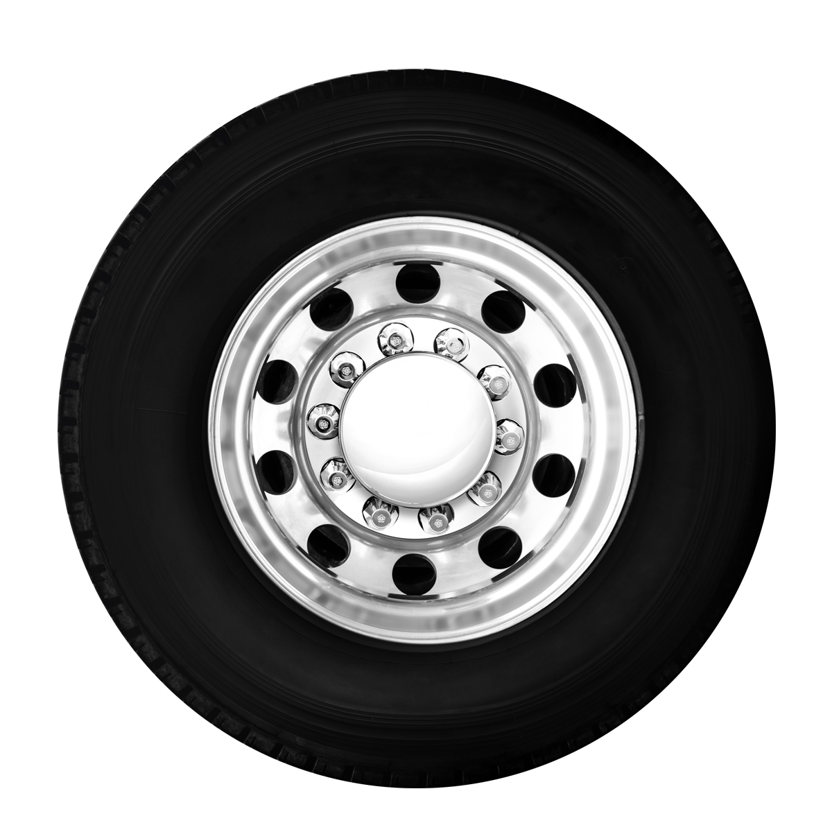 Chrome Plastic Button Cover w//Clear Crystal for Kenworth GG Grand General 51982 1-1//16 Inches O.D