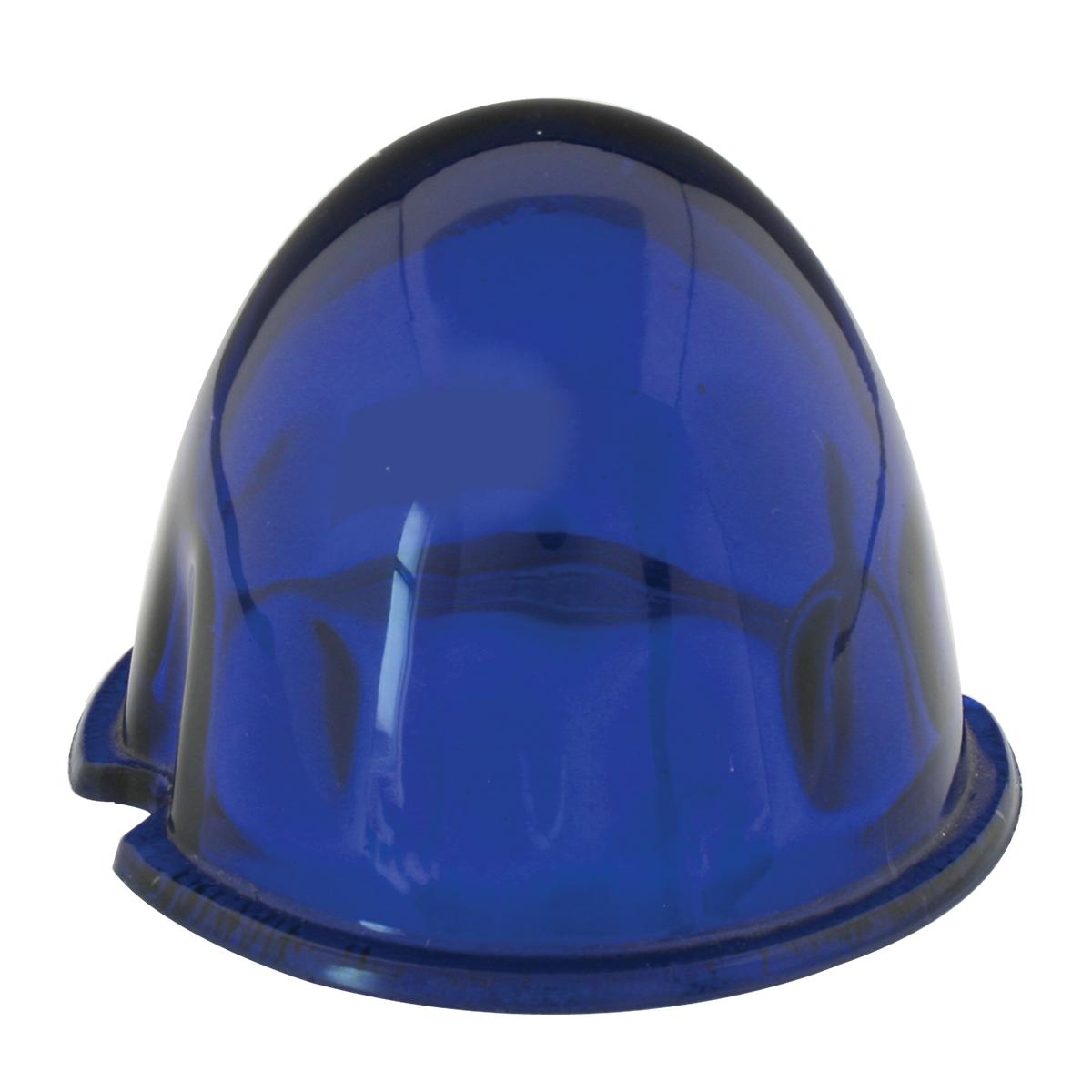 "3.5"" Regular Color Glass Lens - Blue"
