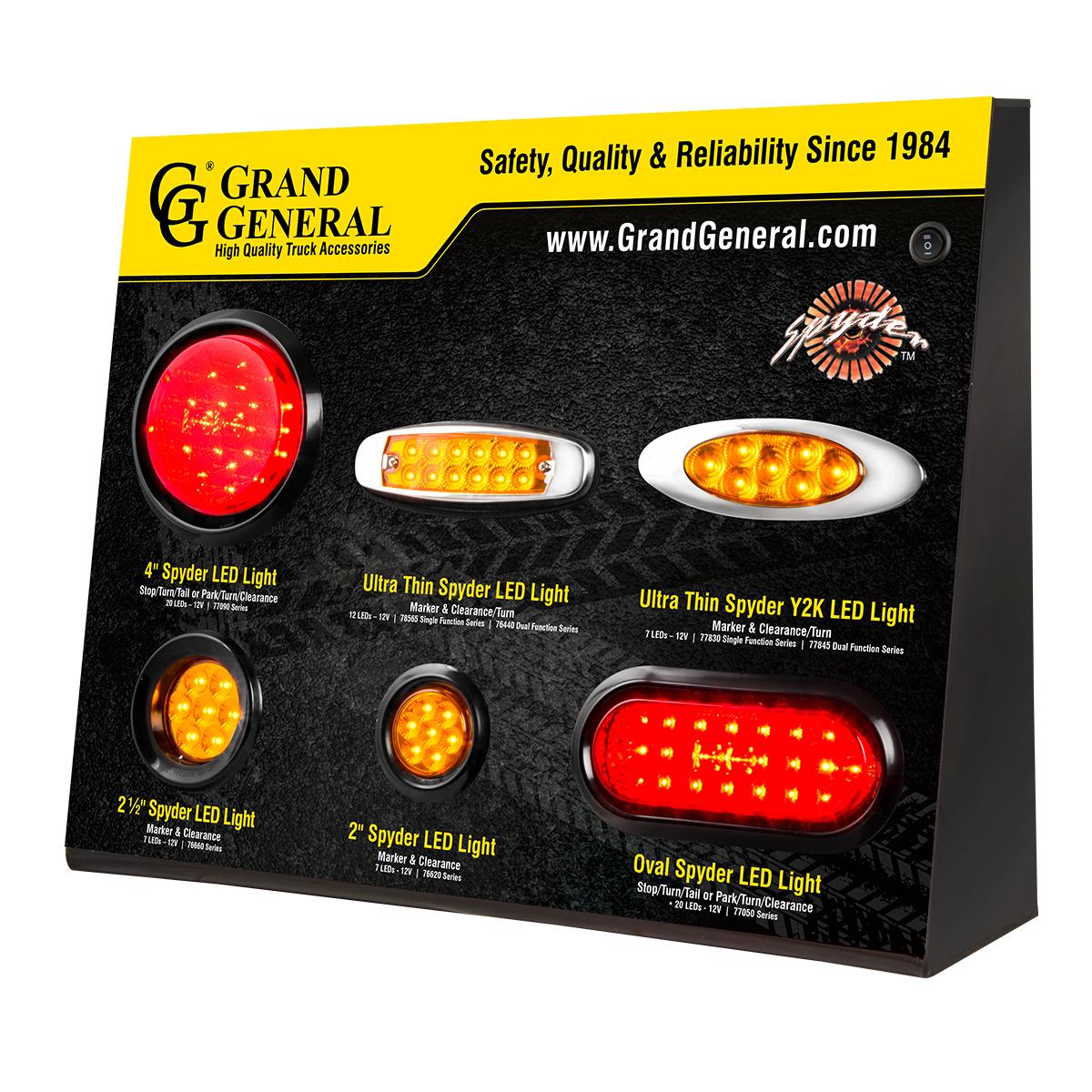 Spyder LED Series Light Display
