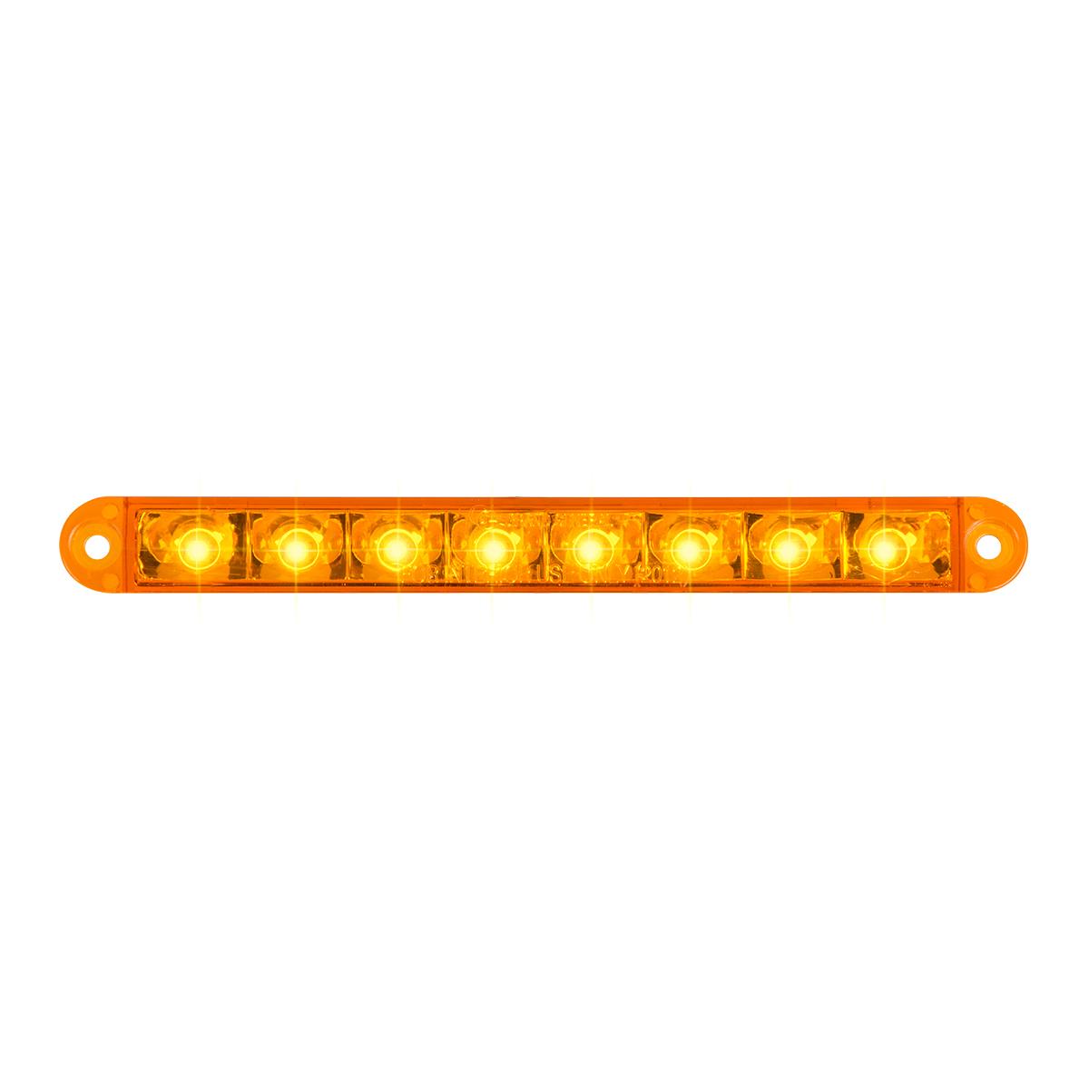 """74760 6.5"""" Flush Mount Pearl Marker & Turn LED Light Bar"""