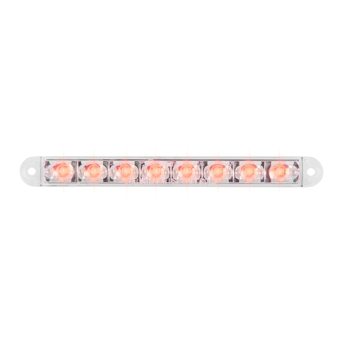 """74763 6.5"""" Flush Mount Pearl Marker & Turn LED Light Bar"""