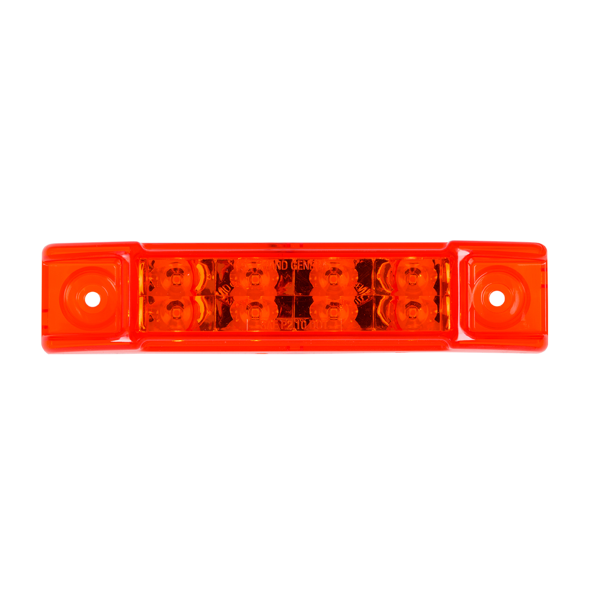 "75187 6"" Rectangular Surface Mount Pearl Marker & Turn LED Light"