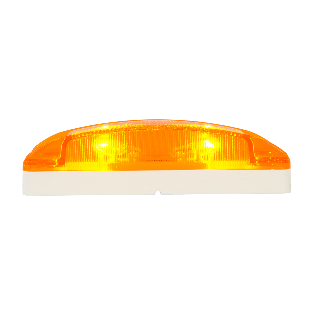 78285 Turtle Style Rectangular Sealed Marker Lights w/ Reflective Lens
