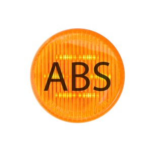 ABS Logo Amber Round LED Marker Lights