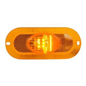 Oval Flange Mount Side Marker & Turn LED Light