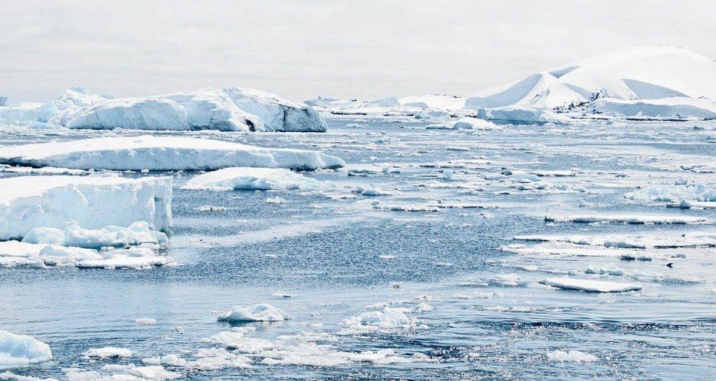 photo du pôle sud