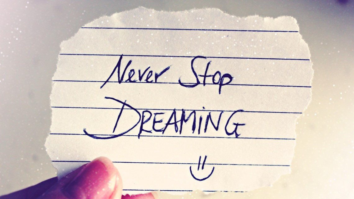 Ma liste de vie : mes rêves pour moi et ma famille