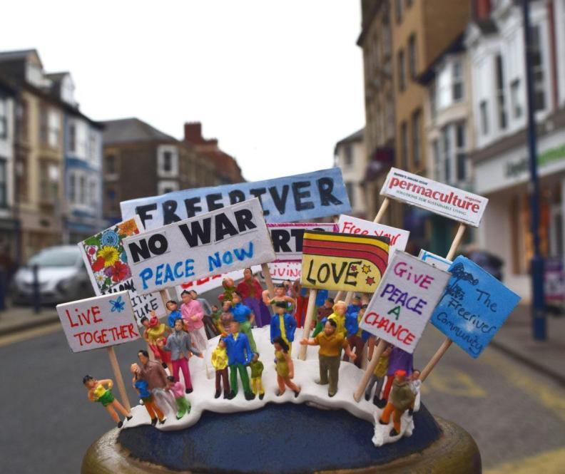 Manifestation pour le changement