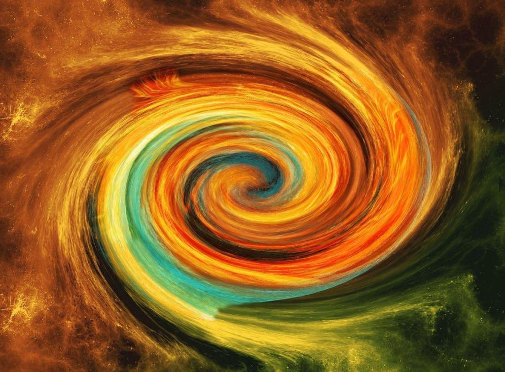 Une spirale d'énergie