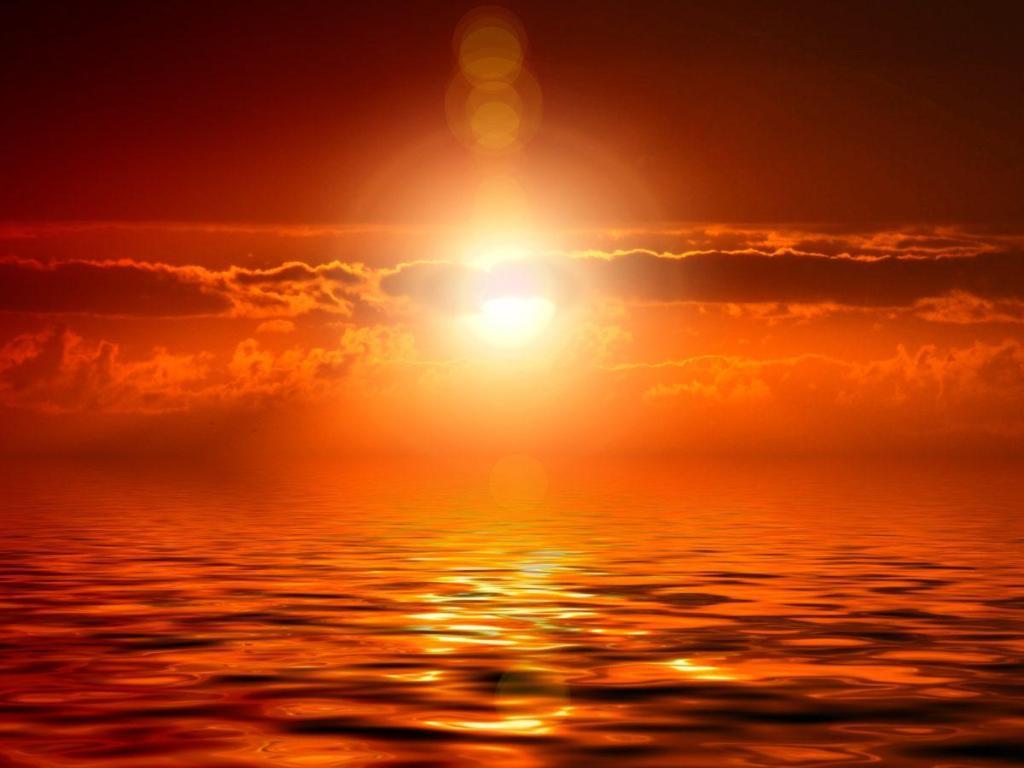 L'énergie vibratoire d'un couché de soleil