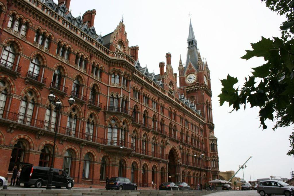 La gare de Saint Pancras à Londres