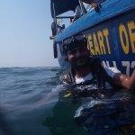 Snorkeling at Monkey Beach Goa