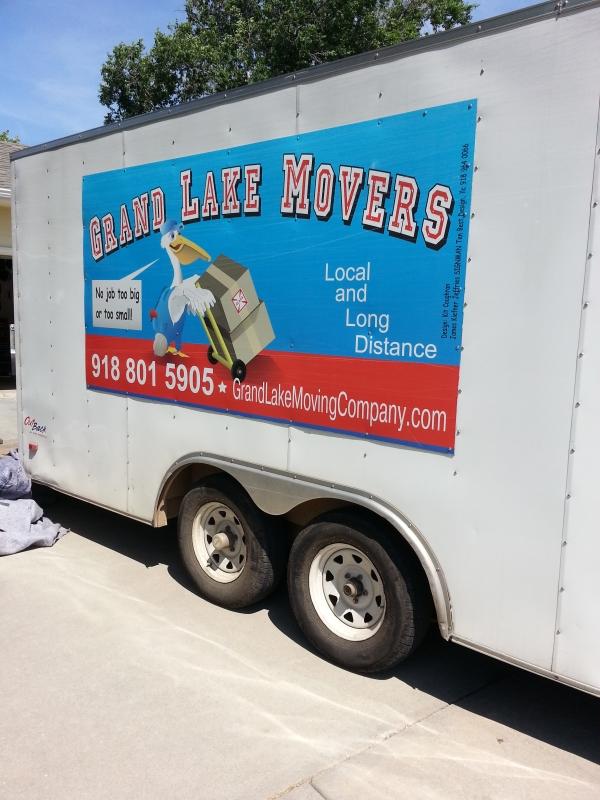 Moving Company at Grand Lake Oklahoma
