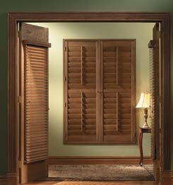Oklahoma window coverings Green Country Shutters