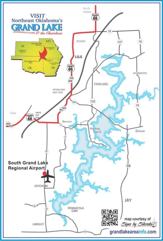 Grand Lake Area Map