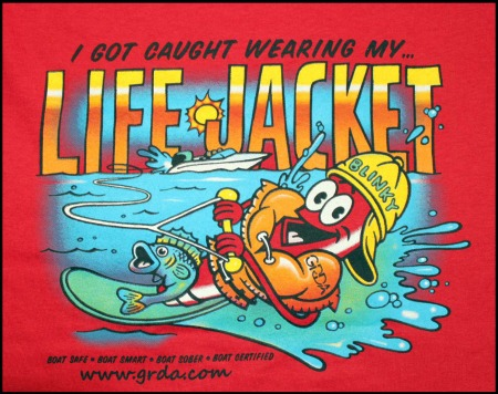GRDA Safe Boating Life Jackets