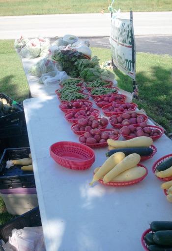 Saturday Morning Market at Grand Lake