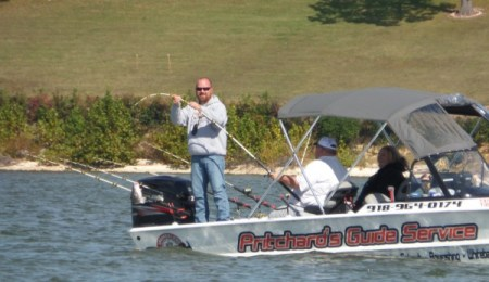 Rusty Pritchard doing his thing at Grand Lake!
