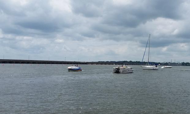 Memorial Day boating at Grand Lake OK