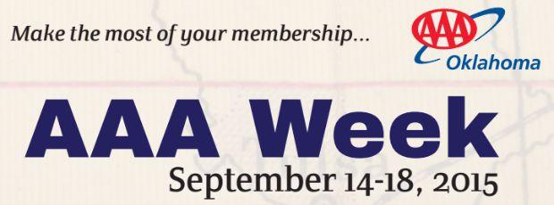 AAA Week Grove Oklahoma Insurance 2015
