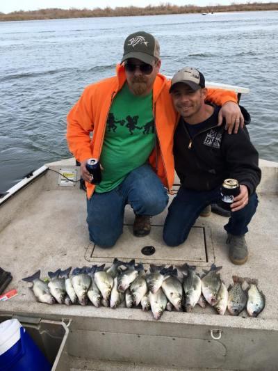 White bass fishing Spring River OK