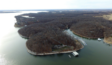 Grand Lake lakefront auction property