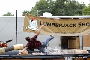 Lumberjack Show Disney OK