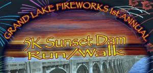 Grand Lake 5k Sunset Dam Run & Walk