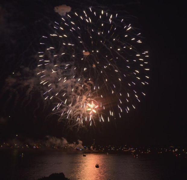 Grand Lake OK Fireworks