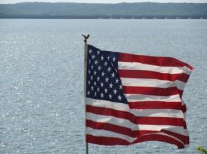 Patriotic Grand Lake Oklahoma