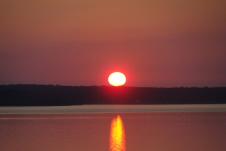 Grand Lake Sunrise July 2012