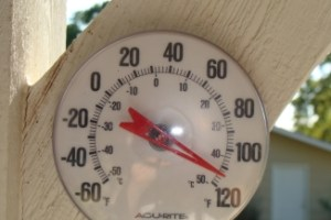 Thermometer on West Side
