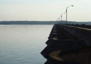 Pensacola Dam at Grand Lake Oklahoma