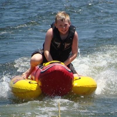 Boating at Grand Lake