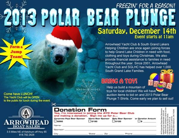 2013 Polar Bear Plunge Grand Lake OK