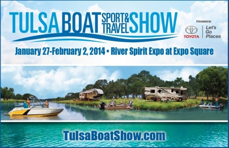 Tulsa Boat, Sport and Travel Show 2014