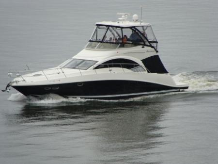 Boating Grand Lake
