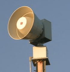 Tornado Siren Raising Is Almost Complete