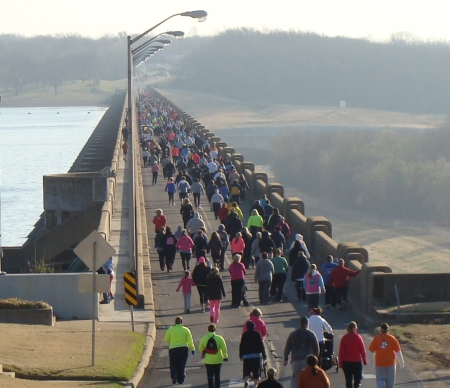 5K Run at Grand Lake Oklahoma