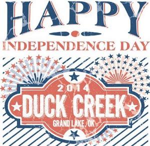 2014 Duck Creek Fireworks Schedule