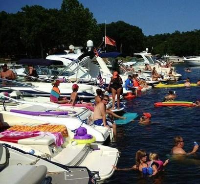 Ketchum Cove Raft-Up This Saturday