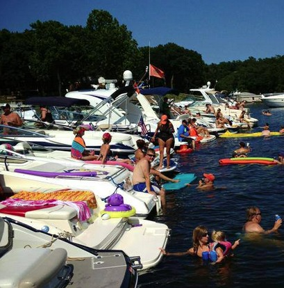 Ketchum Cove Raft-Up This Saturday
