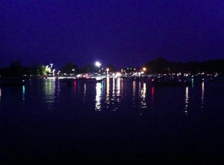 Fishing tournament launch Grand Lake OK