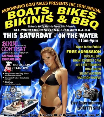 2014 Boats, Bikes, Bikinis & BBQ