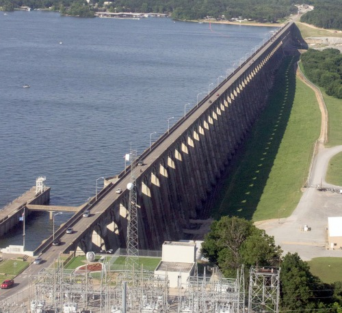 Highway 28 Across Pensacola Dam To Be Closed Next Week